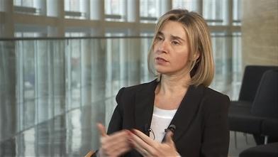 Interview of Federica MOGHERINI, High Representative of the Union for  Foreign Affairs and Security Policy and Vice-President of the EC on  external issues of the EC